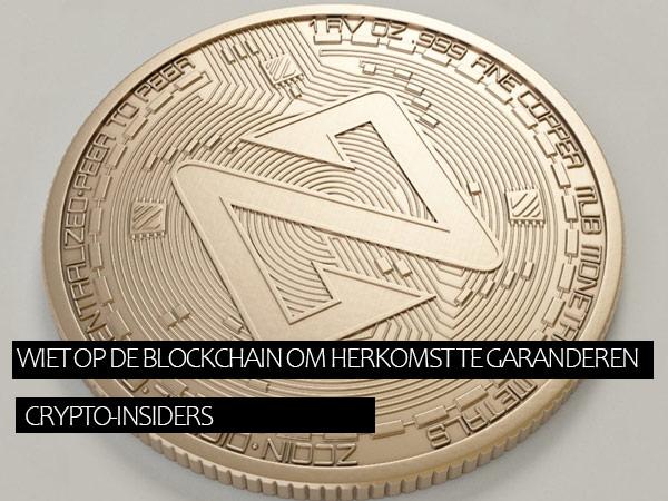 Wiet op de blockchain om herkomst te garanderen…