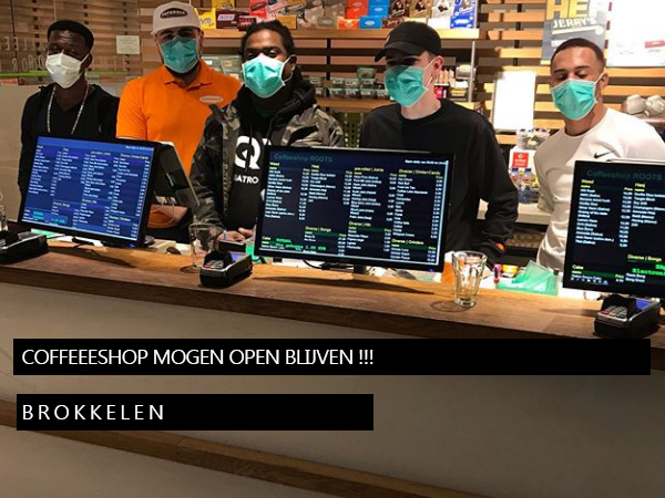 Coffeeshops zijn weer open